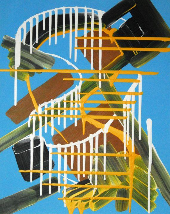 Dancer (framed artwork) - Conrad Bloemers