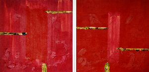 Simplicity 3 and 4 (diptych, framed)