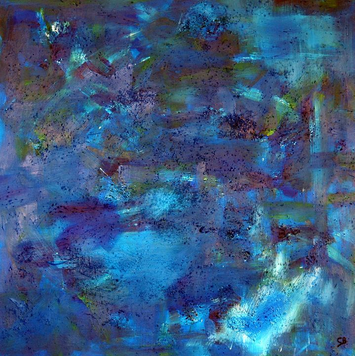 heavens blue (artwork on mdf) - Conrad Bloemers