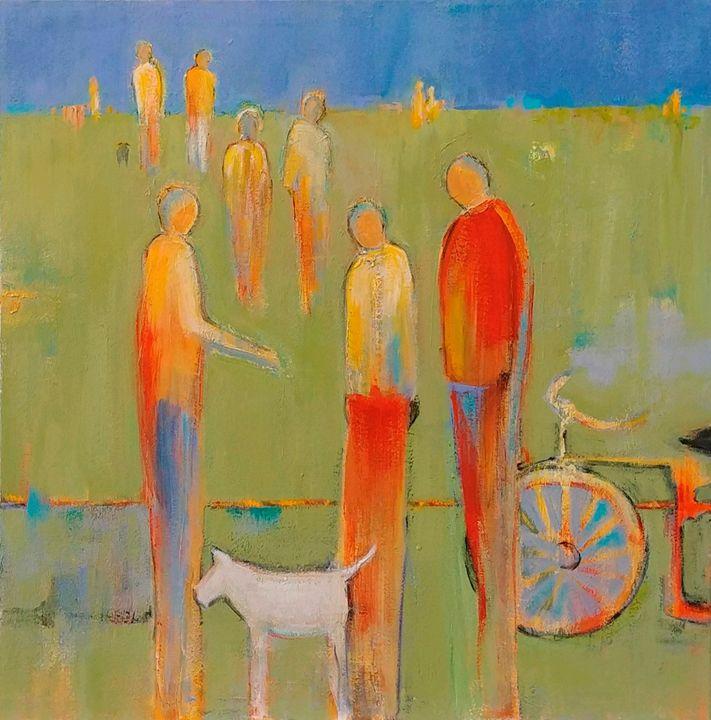 Sunday in the Park - Patton Hunter Fine Art
