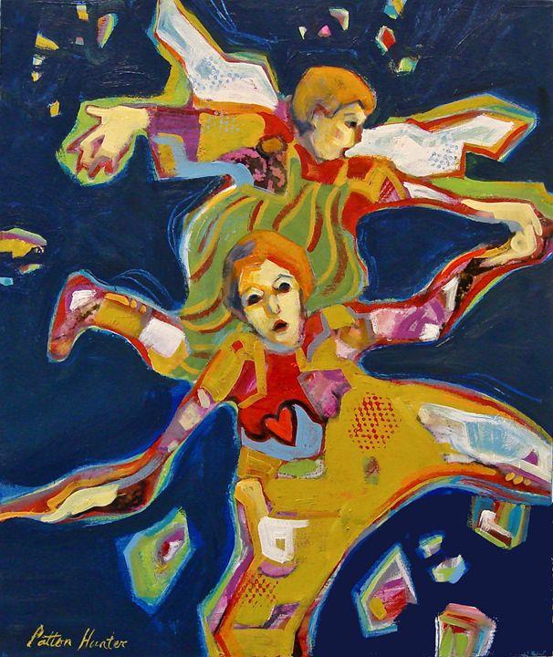 Sisters Help Us Fly - Patton Hunter Fine Art