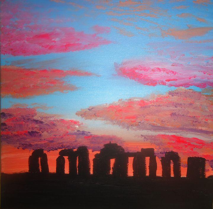 Stonehenge - Twisted Attic Creations