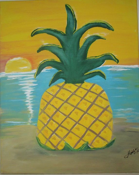 Pineapple Beach - GINNI MCNAMARA