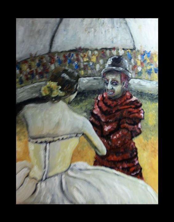 Clown of Hearts - GrayFairweather
