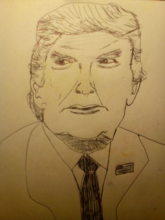 President Donald J.Trump - John Vitali Art