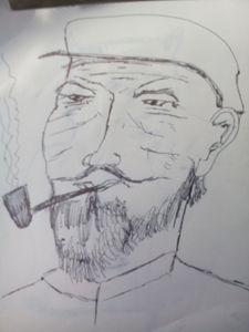 old man fisherman