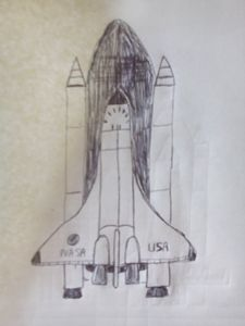 USA space shuttle