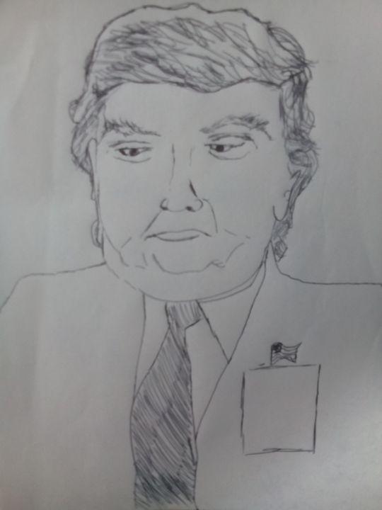 President Donald Trump - John Vitali Art
