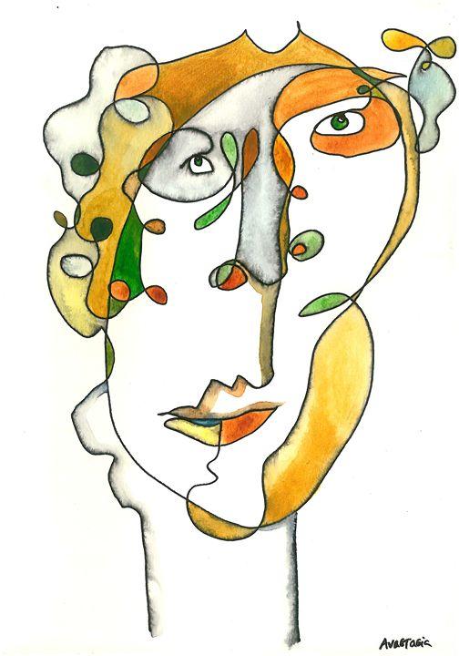 Blind Portrait of Oscar - Anastasia Carrots