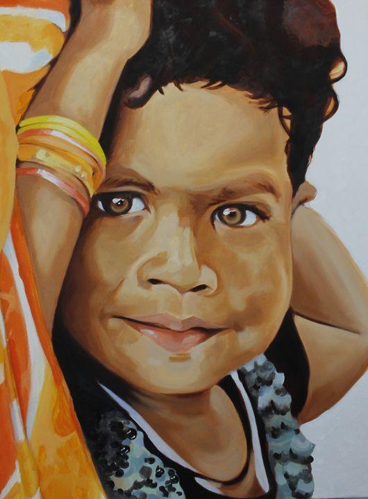 La bambina Indiana - Mariah's Art