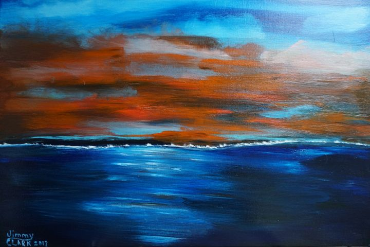 Sunset - Jimmy's Art Work