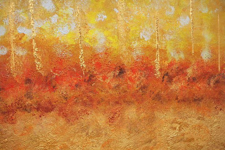 Skies Over Western Wildfires - Jimmy's Art Work