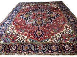 High quality rug. Heriz 315x405 cm - Michaël Kal Gallery