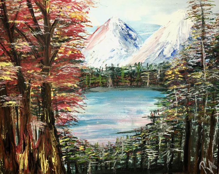 Majestic Mountainscape - Renad's Impressions