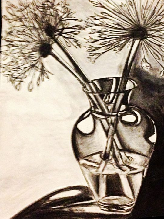 Flowers in a Vase - Renad's Impressions