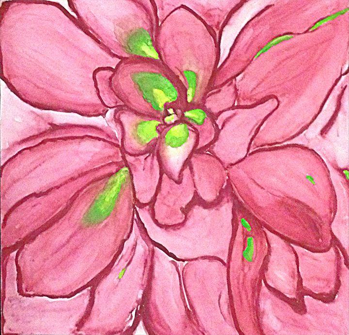 Budding Flower - Renad's Impressions
