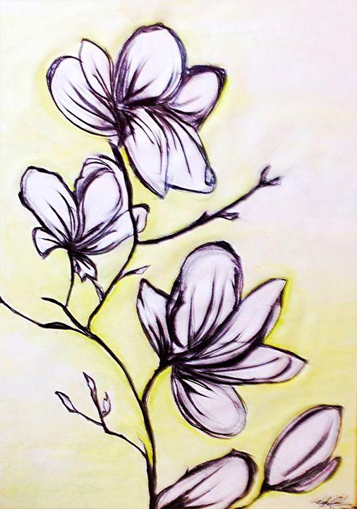 Magnolias - Renad's Impressions