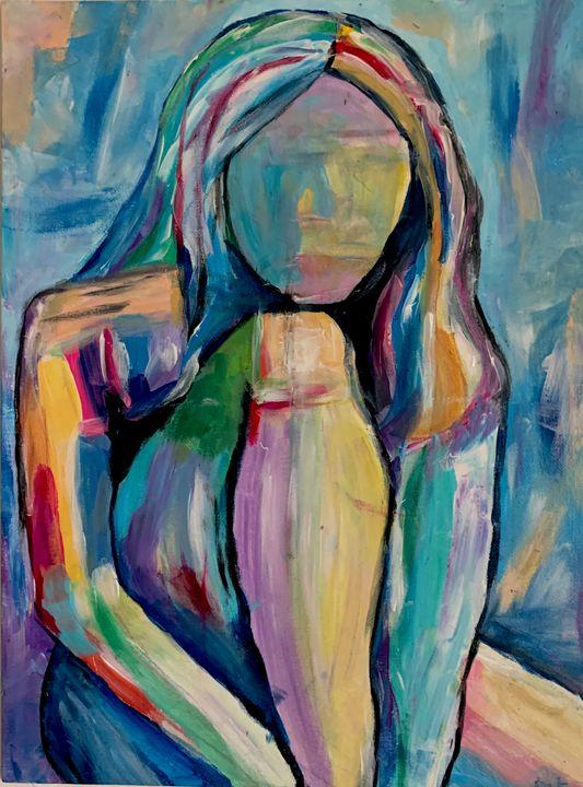 the faceless woman - Sarah Leventis