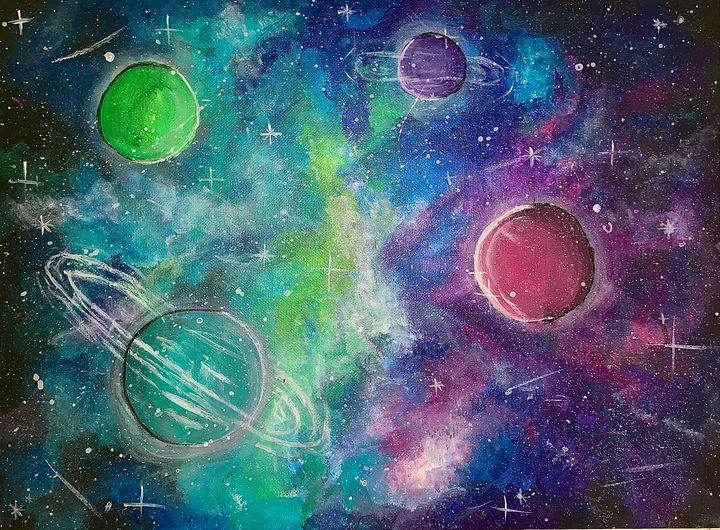 intergalactic - Sarah Leventis