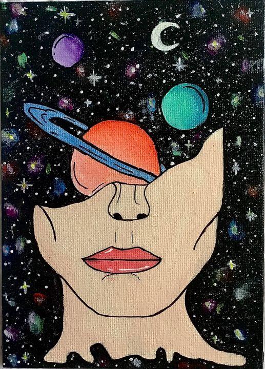the unknown - Sarah Leventis