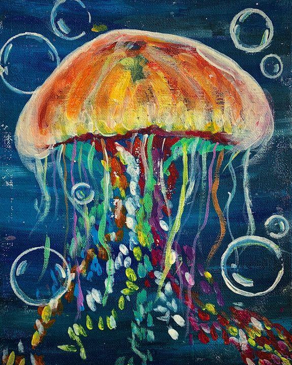 colourful jelly - Sarah Leventis