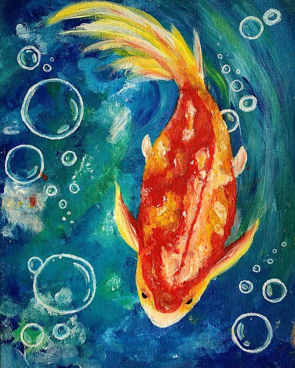 1 fish, 2 fish .. - Sarah Leventis