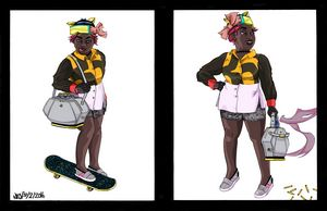 Omni Citizen: Woman on Skateboard 1