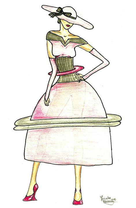 Intergalactic dress - Bianca