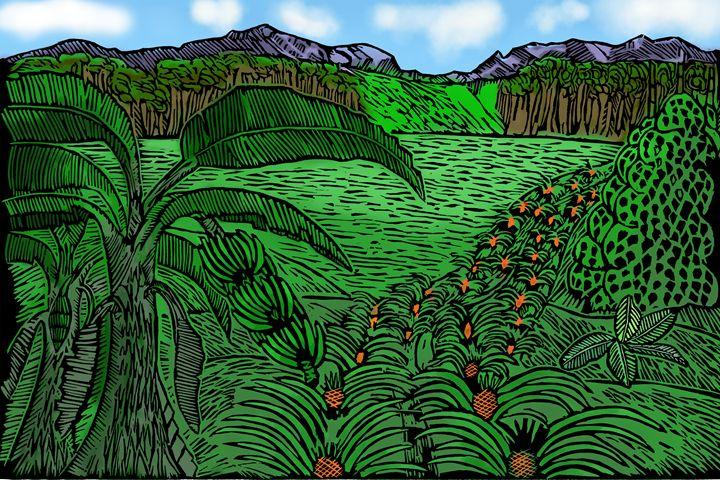 The Farmland - Marlon's Art Gallery