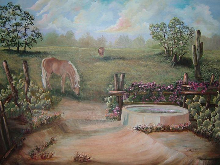 Watering Hole - Jan holman