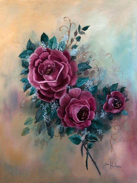Queen of Flowers - Jan holman