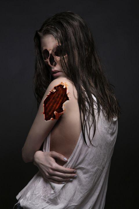 Shyness - Ray Delgado Art