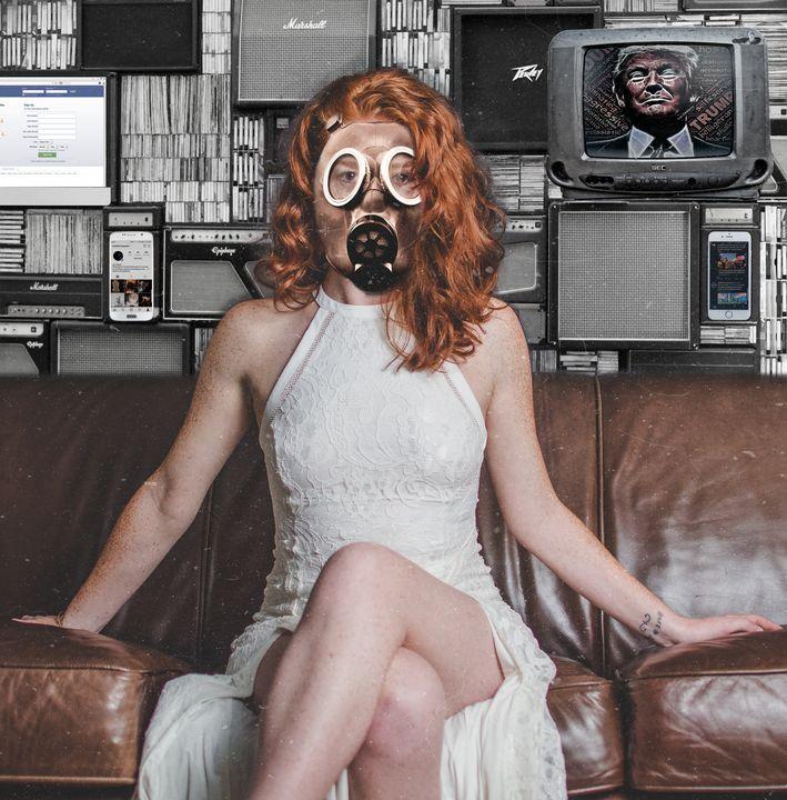Toxic Media - Ray Delgado Art