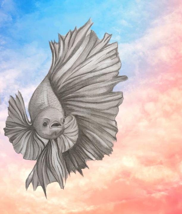 Swimming in the Clouds - Annie Jadlos
