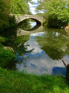 Bridge Over Cloudy Waters
