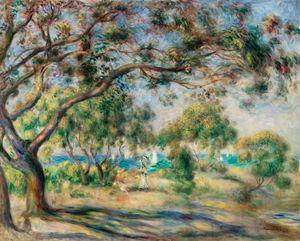 Bois de la Chaise (Paysage) (1892)