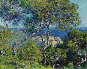 Bordighera (1884) by Claude Monet.