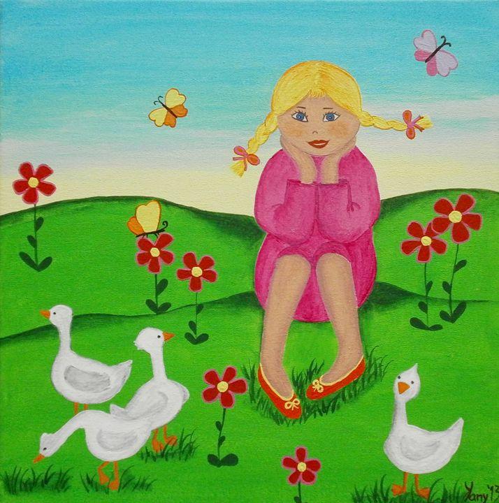 A little beauty - Art by Yany