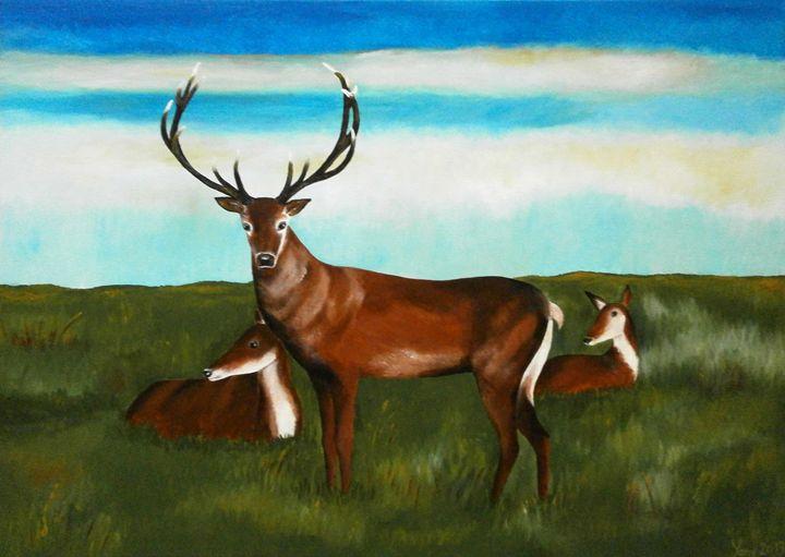 Deer - Art by Yany