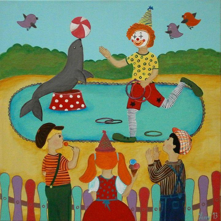 Circus - Art by Yany