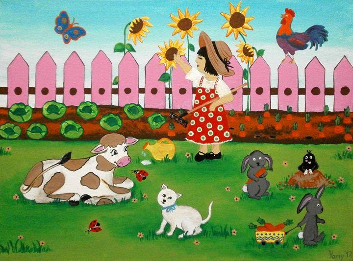 A little farmer II - Art by Yany