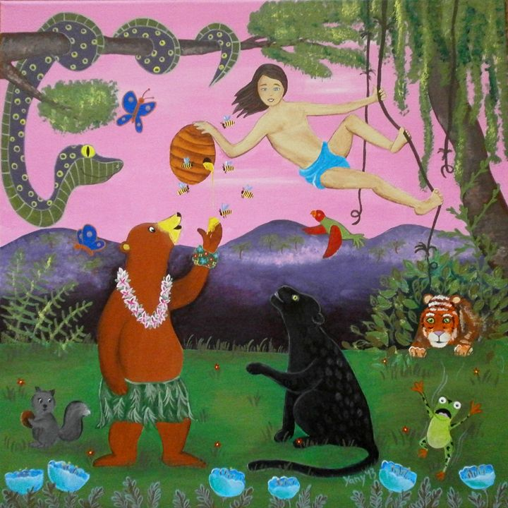 The Jungle Book - Art by Yany