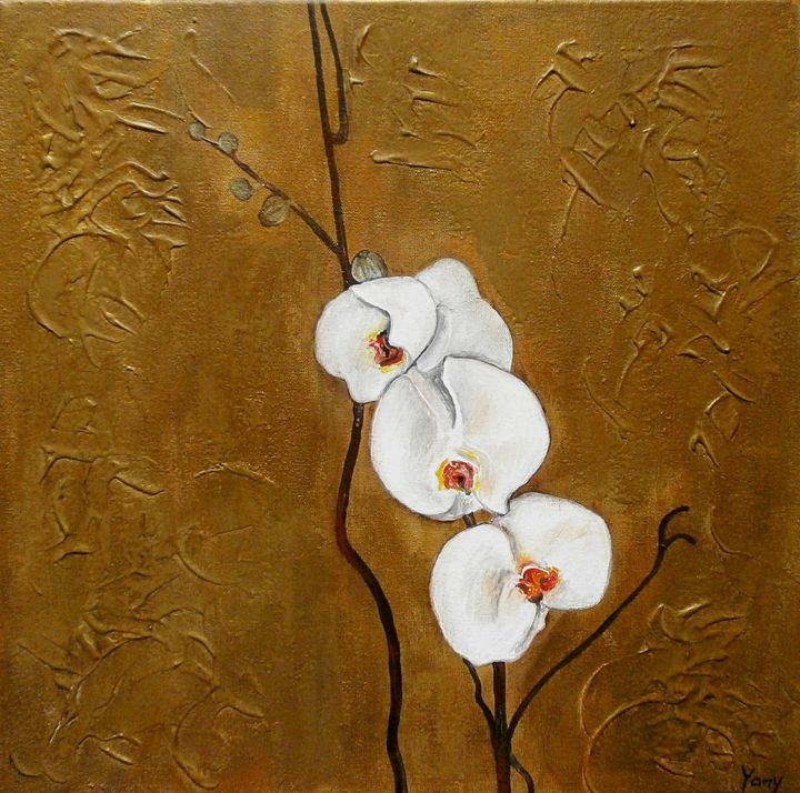 orchid - Art by Yany