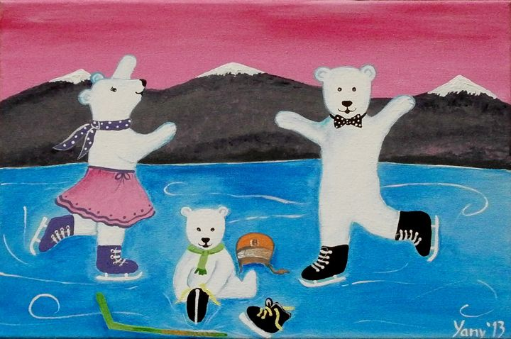 The bear s family II - Art by Yany