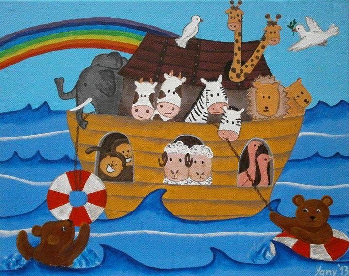 The Noah s ark - Art by Yany