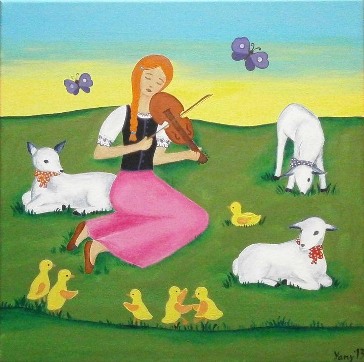 Little shephard - Art by Yany
