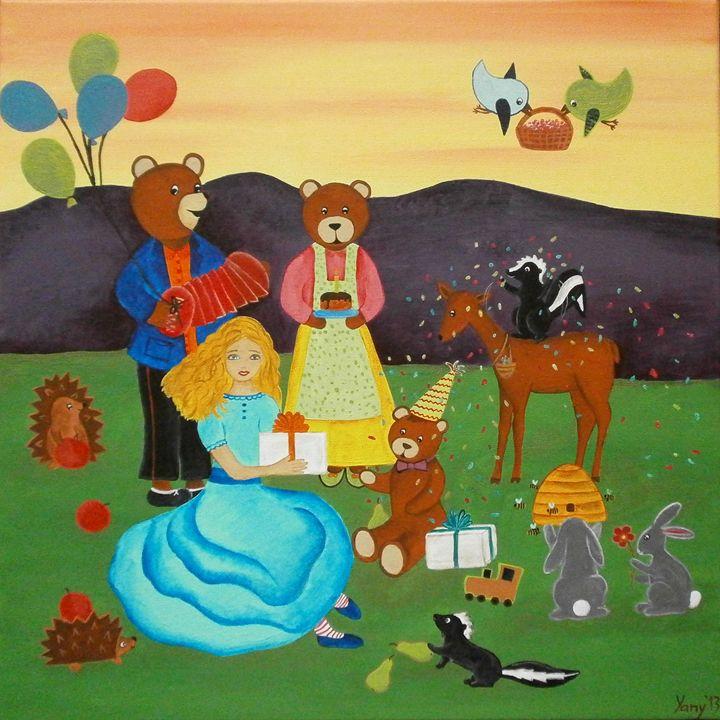 The Goldilocks - Art by Yany