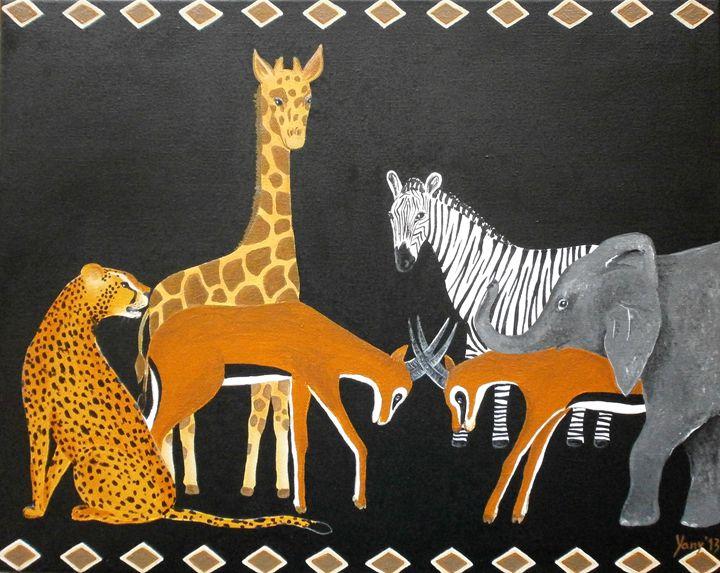 safari - Art by Yany