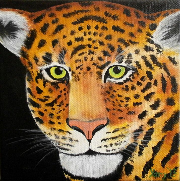 Leopard - Art by Yany