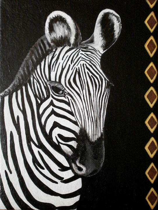 Zebra - Art by Yany